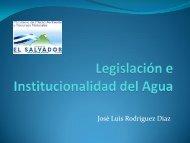 Legislación e Institucionalidad del Agua - Ministerio de Medio ...