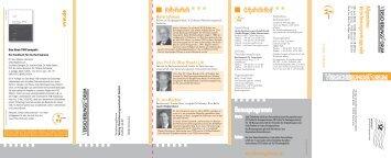 Bonusprogramm Organisation Referenten