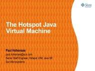 The Hotspot Java Virtual Machine