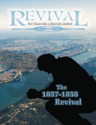 Revival Magazine Issue 08 2008 Issue One