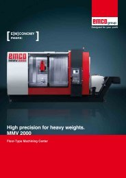 High precision for heavy weights. MMV 2000