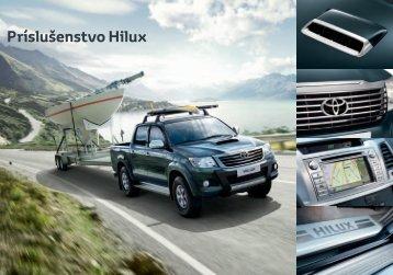 Príslušenstvo Hilux - Toyota