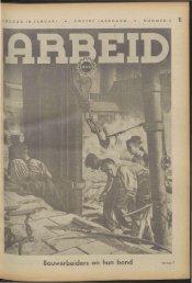 Arbeid (1942) nr. 3 - Vakbeweging in de oorlog
