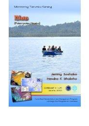 monitoring kesehatan terumbu karang kabupaten nias - coremap