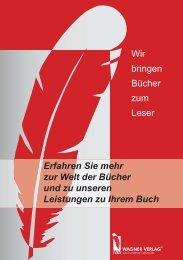 Unsere Leistungen als Pdf-Datei - Wagner-Verlag
