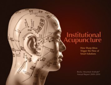 Institutional Acupuncture Institutional Acupuncture - Rocky Mountain ...