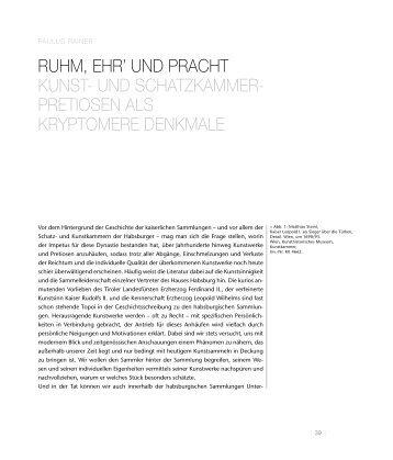 Rainer: Glanz der Macht. Leseprobe - Folio Verlag