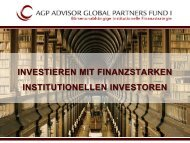 investitionen agp fund i