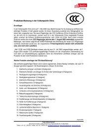 Produktzertifizierung in der Volksrepublik China - Berlin Business ...