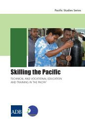 Skilling the Pacific: Technical and Vocational ... - YEN Marketplace