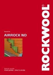 Airrock ND - rockwool adriatic