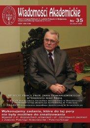 Nr 35 Grudzień 2009 - Biblioteka Główna Akademii Medycznej w ...