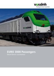 EURO 3000 PASSENGERS.indd - Vossloh Middle East