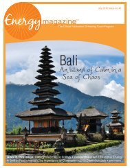 Bali: An Island of Calm in a Sea of Chaos - Energy Magazine