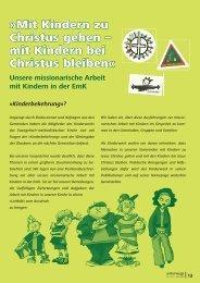 Offizielles Statement des ZK-Kinderwerkes