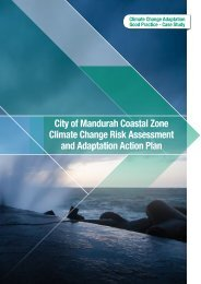City of Mandurah Coastal Zone Climate Change Risk Assessment ...