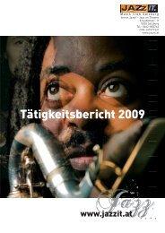 Tätigkeitsbericht 2009 - Das Jazzit