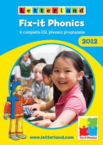 Fix-it Phonics Catalogue 2012 - Letterland
