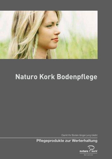 Naturo Kork Bodenpflege - Naturo Kork AG