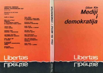 LIBERTAS OIINIBUS HEBUS FAVORABILIOR EST - John Keane