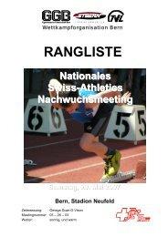 Nationales Nachwuchsmeeting in Bern vom 29.05 ... - LAR Tägerwilen