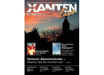 Xantener Adventskalender - Xanten Live