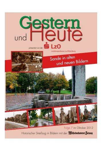Sande in alten und neuen Bildern - Wilhelmshavener Zeitung