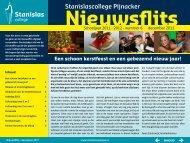 Nieuwsflits december 2011 - Stanislascollege