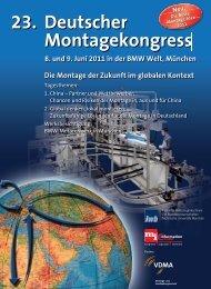 23. Deutscher Montagekongress