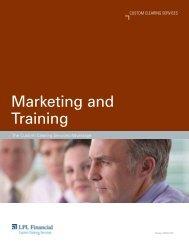 Marketing and Training - LPL Financial