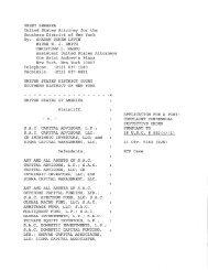 US vs SAC Capital et al. Postcomplaint Consensual ... - Frank-CS.org