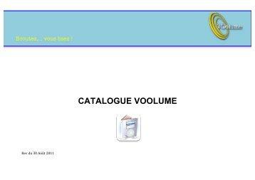 CATALOGUE VOOLUME