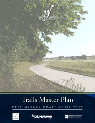 Trails Master Plan - City of Wylie