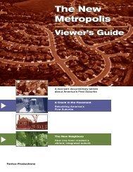 The New MeTropolis Viewer's Guide - Bullfrog Films