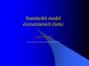 Standardní model elementárních částic