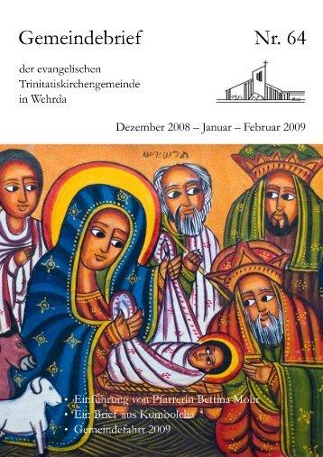 Nr. 64: Dezember 2008 - Januar - Februar 2009
