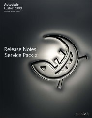 Release Notes Service Pack 2 - Autodesk