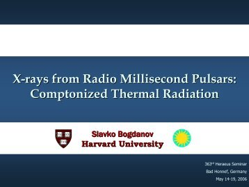 X-rays from Radio Millisecond Pulsars: Comptonized Thermal ...