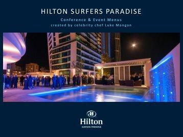 Menu - Hilton Surfer's Paradise