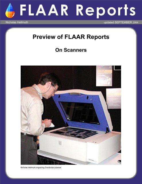 FLAAR Reports - Wide Format Printers