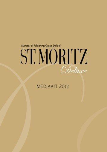 MEDIAKIT 2012 - St. Moritz Deluxe