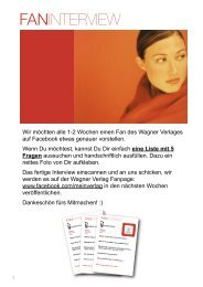 Fan Interview Wagner Verlag