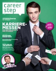 Careerstep Magazin 1/2012