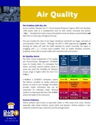 Air Quality - Regional Transportation Commission of Southern Nevada