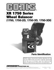 XR 1750 Series Wheel Balancer - aesco