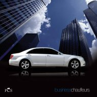 businesschauffeurs - PCS - Professional Chauffeur Services Limited