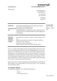 16. juni 2004 J.nr.: 11-187 Eksp.nr.: 15898 TAT - Energiklagenævnet