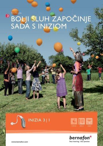 Inizia brošura - Bernafon.hr