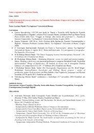 CV Letizia Gioia Monda - Dipartimento di Storia dell'Arte e ...