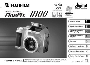 finepix 3800 manual rh yumpu com FinePix A203 Fujifilm Camera